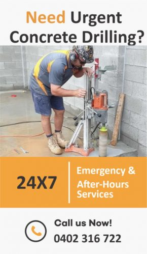 Core Drilling Brisbane banner - RDA Concrete Cutting